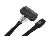 6G Mini SAS(SFF-8087) to SAS(SFF-8484) 32Pin Cable