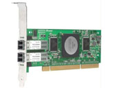 Qlogic 4-Gbps single port Fibre Channel to PCI-X 2.0 266 MHz host bus adapter Fibre Channel HBA