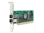 Qlogic 4-Gbps dual port Fibre Channel to PCI-X 2.0 266 MHz host bus adapter Fibre Channel HBA