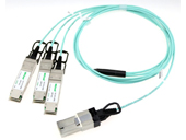 120G CXP to 3*40G QSFP+(SFF-8436) Breakout Active Optical Cable,up to 150m
